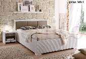 Łóżko GENUA 160x200 bez materaca Lloyd Loom