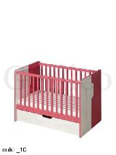 NUKI _10 łóżeczko bez materaca dostępny tylko kolor niebieski
